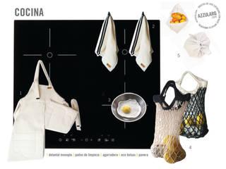 Linea CUCINA • 100% algodon • de AZZULARQ.com Minimalista
