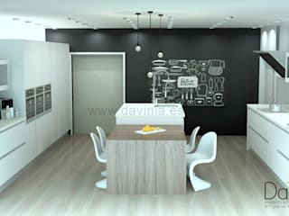 Cocina chalet Baleares de Davinia Cocinas