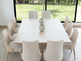 Classic style dining room by ea interiorismo Classic