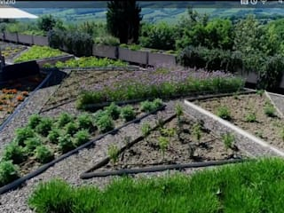 HOTEL TERRE DI CASOLE - A vegetable garden on the terrace by A3PAESAGGIO Mediterranean