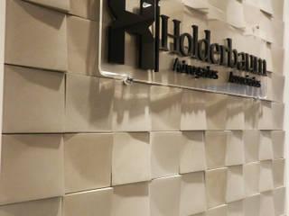 Holderbaum Advogados Associados: Escritórios  por Estúdio AZ Arquitetura,Moderno