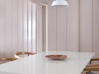 Projeto Turiassu Salas de jantar minimalistas por Kika Tiengo Arquitetura Minimalista