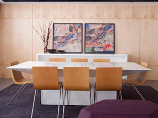 Projeto Rafael de Barros Kika Tiengo Arquitetura Salas de jantar minimalistas