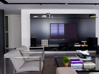 Projeto Rafael de Barros Kika Tiengo Arquitetura Salas de estar minimalistas