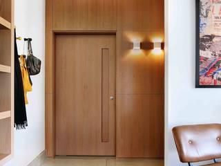 Projeto Carlos Steinen Salas de estar modernas por Kika Tiengo Arquitetura Moderno