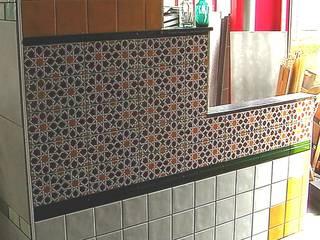 Artesania Kombi 15 x 15 cm und weitere Motive ......:  Badezimmer von KerBin GbR   Fliesen  Naturstein  Mosaik
