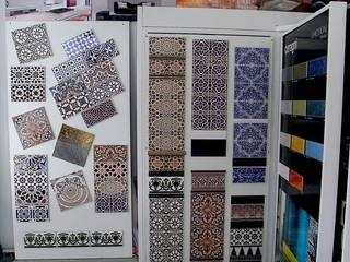 """""""Orientalische"""" Wandgestaltung -  Made in Spain:  Schlafzimmer von KerBin GbR   Fliesen  Naturstein  Mosaik"""