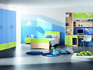 Nội thất phòng ngủ trẻ em cực đáng yêu Phòng trẻ em phong cách hiện đại bởi Thương hiệu Nội Thất Hoàn Mỹ Hiện đại
