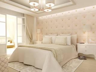 Настенные панели из кожаной плитки для спальной комнаты:  в . Автор – Tileelit