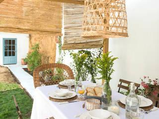 Proyecto Casa de Pueblo Costa Brava Jardines de estilo mediterráneo de Nice home barcelona Mediterráneo