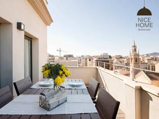 Proyecto Aragón: Terrazas de estilo  de Nice home barcelona