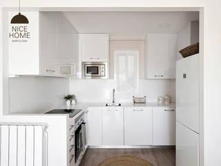 Proyecto Ático: Cocinas de estilo  de Nice home barcelona