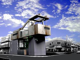 Casa en La Boca: Casas unifamiliares de estilo  por Arq. Ilacqua
