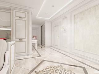 Веяние классики Коридор, прихожая и лестница в классическом стиле от Homefort Классический
