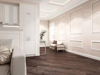 """Квартира в ЖК """"Центральный"""" Коридор, прихожая и лестница в классическом стиле от Homefort Классический"""