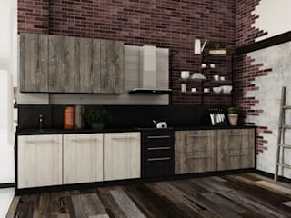 Шоурумы для партнёров Кухня в стиле модерн от Homefort Модерн