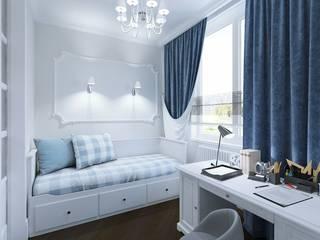 Роскошь и достоинство Спальня в классическом стиле от Homefort Классический