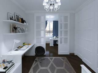 Роскошь и достоинство Рабочий кабинет в классическом стиле от Homefort Классический
