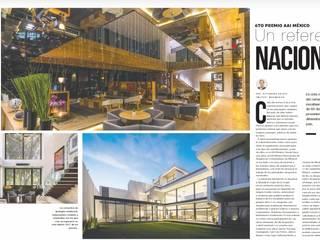 6to Premio nacional: Casas unifamiliares de estilo  por AAI México ( Asociación de arquitectos e interioristas de México)