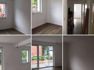 Räume Musterwohnung Vorher leer:   von NICE Homestaging