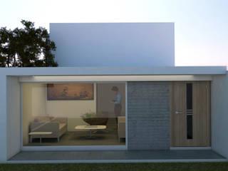casa Minimalista de bajo costo de Calapiz Arq