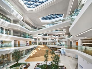 Aedas-designed Unilever Headquarters in Indonesia inaugurates:   by Aedas