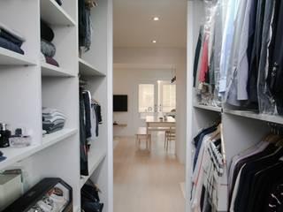 Dressing room by 홍예디자인, Minimalist