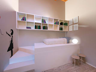 Modern style bedroom by Flavia Benigni Architetto Modern