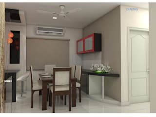 Project in Bachupally @ Praneeth Antilia to Peter:  Dining room by shree lalitha consultants