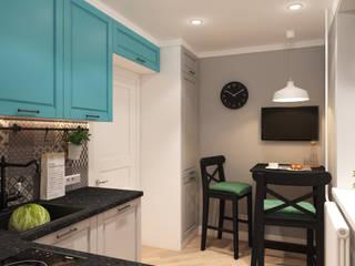 Кухня Кухня в скандинавском стиле от Дизайн студия ТТ Скандинавский