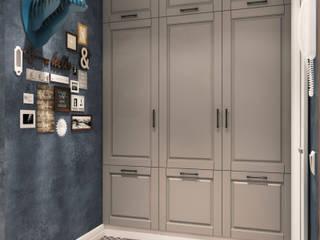Прихожая Коридор, прихожая и лестница в скандинавском стиле от Дизайн студия ТТ Скандинавский