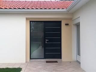 Aménagement intérieur - Création d'un espace entrée et salon Couloir, entrée, escaliers modernes par Atelier Créa' Design Moderne