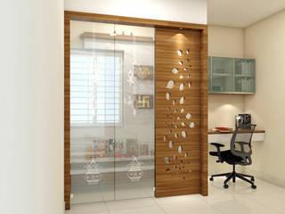 Oficinas de estilo  por shree lalitha consultants