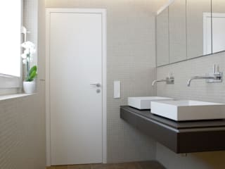 Blick ins Badezimmer:  Badezimmer von pauly + fichter planungsgesellschaft mbH