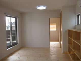 よしだみわこ建築設計事務所 Modern Bedroom