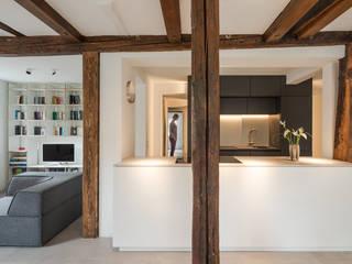 Küche: moderne Küche von gerken.architekten+ingenieure