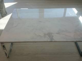 ALTAŞ DEKORATİF ÇÖZÜMLER – Beyaz afyon mermer masa tablası:  tarz