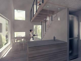キッチン: 富永大毅建築都市計画事務所が手掛けたです。