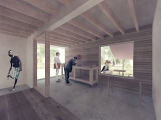 ガレージ: 富永大毅建築都市計画事務所が手掛けたです。