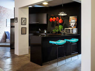 Decoradoria Kitchen units Granite Black