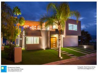 Casa Vista Lago de Excelencia en Diseño Moderno