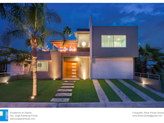 Casas de campo de estilo  por Excelencia en Diseño