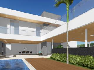 Moderne Häuser von Rafael Caldeira Arquitetura Modern