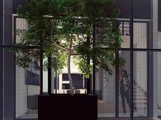 Detalle Fachada: Casas de estilo  por TDT Arquitectos