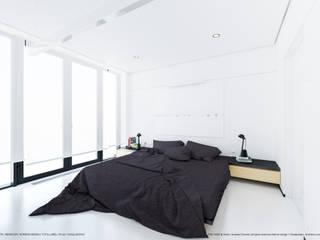 Apartament 175: styl , w kategorii Sypialnia zaprojektowany przez Hoski