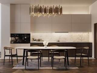 Archventil - Architecture and Design Studio Cocinas de estilo moderno
