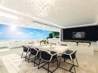Salas modernas de Baltasar Ríos ARQUITECTOS Moderno