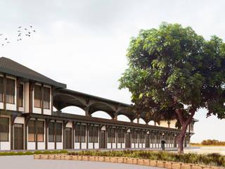 Ankara Keçiören Parkı Hizmet Birimi Two+architects Klasik