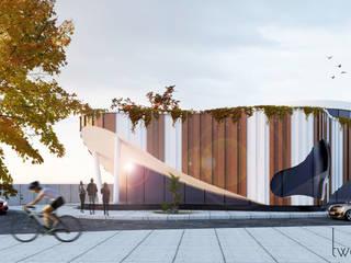 Satış Ofisi Two+architects Modern