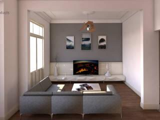 Two+architects – HK Evi: modern tarz Oturma Odası